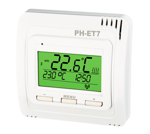PH-ET7-V  Funk-Thermostat Elektrobock